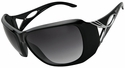 Vast Mafadi Women's Safety Sunglasses with Black Frame and Smoke Gradient Lens