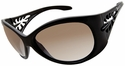 Vast Pili Women's Safety Sunglasses with Black Frame and Copper Gradient Driving Lens