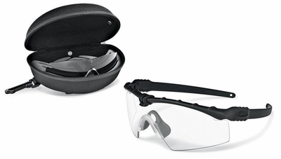 Oakley SI Ballistic M Frame 3.0 Array with Black Frame and Clear and Grey Lenses