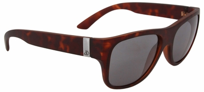 Gatorz Bomar Sunglasses with Matte Tortoise Frame and Brown Polarized Lens