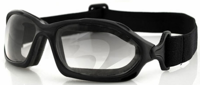 Bobster DZL Goggles with Black Frame and Anti-Fog Photochromic Lens