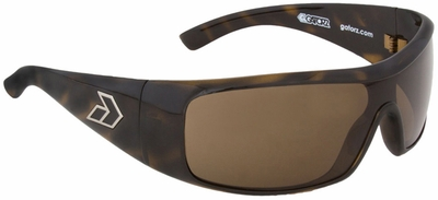 Gatorz Axl Sunglasses with Shiny Tortoise Frame and Brown Polarized Lens
