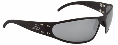 Gatorz Wraptor Sunglasses with Black Aluminum Frame and Chrome Lens