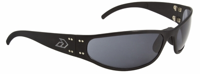 Gatorz Radiator Sunglasses with Black Aluminum Frame and Gray Lens