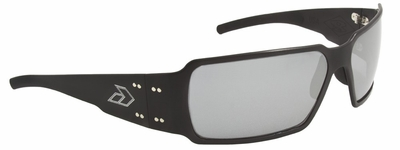 Gatorz Boxster Sunglasses with Black Aluminum Frame and Chrome Lens