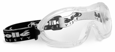 Bolle Nitro Safety Goggle with Translucent Frame and Clear Anti-Fog Lens