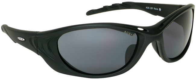 3M Fuel 2 Safety Glasses with Black Frame and Gray Anti-Fog Lens