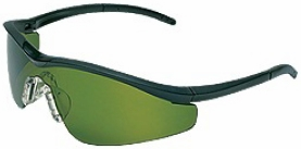 Crews Triwear Safety Glasses with Onyx Frame and Shade 3 Lens