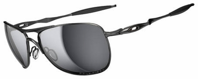 Oakley Crosshair Sunglasses with Lead Frame and Black Iridium Polarized Lenses