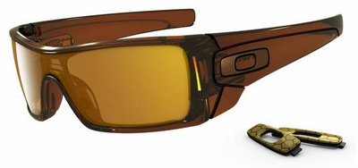 Oakley Batwolf Sunglasses with Polished Rootbeer Frame and Dark Bronze Lenses