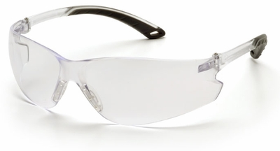 Pyramex Itek Safety Glasses with Clear Anti-Fog Lens