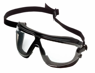 3M Dust GoggleGear with Elastic Strap and Clear Anti-Fog Lens