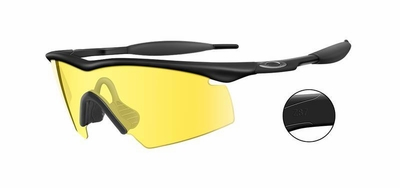 Oakley Industrial M Frame Safety Glasses with Yellow Lens