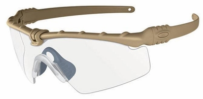 Oakley SI Ballistic M Frame 3.0 with Dark Bone Frame and Clear Lens