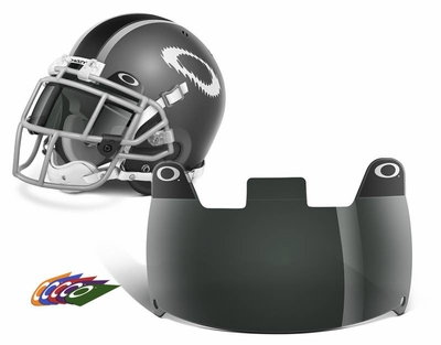 Oakley Football Shield with 20% Gray Lens