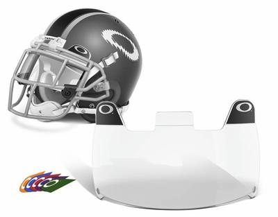 Oakley Football Shield with Clear Lens