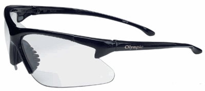 Olympic 30-06 Bifocal Safety Glasses With Clear Lens
