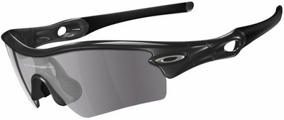 Oakley Radar Path Sunglasses with Jet Black Frame and Grey Lens