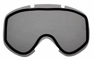 Bobster MX3 Dual-Pane Anti-Fog Smoke Replacement Lens