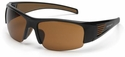 Carhartt Thunderbay Safety Glasses with Black Frame and Sandstone Bronze Anti-Fog Lenses