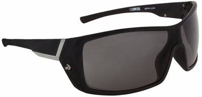 Gatorz Kegger Sunglasses with Matte Black Frame and Grey Polarized Lens