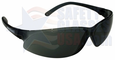 ERB supERB Safety Glasses with Smoke Frame and Smoke Lens