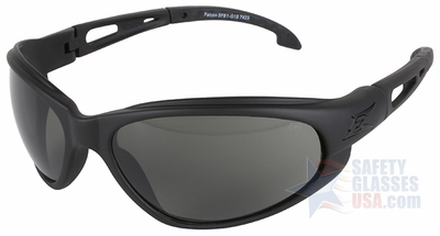 Edge Falcon Tactical Safety Glasses with Black Frame and G-15 Lens