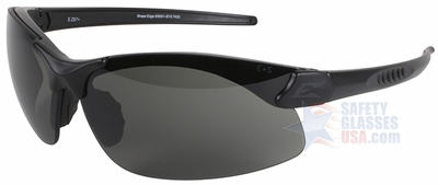 Edge Sharp Edge Tactical Safety Glasses with Black Frame and G-15 Lens