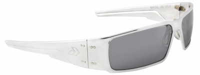 Gatorz Octane Sunglasses with Polished Aluminum Frame and Chrome Lens