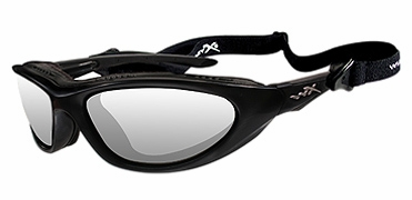Wiley-X Blink Safety Glasses with Matte Black Frame and Clear Lens