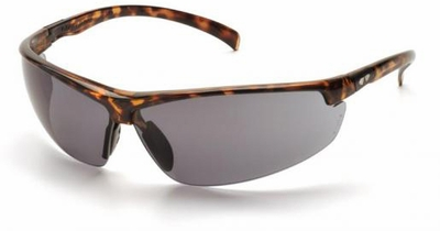Pyramex Forum Safety Glasses with Tortoise Frame and Gray Lens