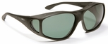 Haven Everest OTG Sunglasses with XLarge Black Frame and Gray Polarized Lens