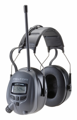 Peltor Digital WorkTunes AM/FM Radio Earmuff