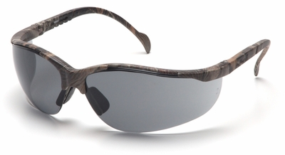 Pyramex Venture 2 Safety Glasses with Realtree Frame and Gray Lens