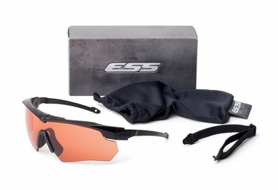 ESS Crossbow Suppressor Eyeshield with Black Frame and HD Copper Lens
