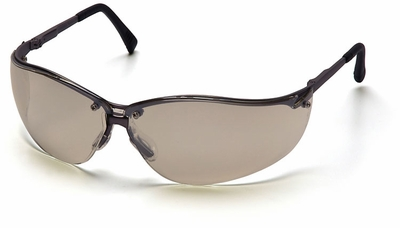 Pyramex V2 Metal Safety Glasses with Indoor Outdoor Lens