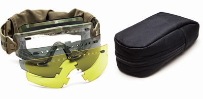 Smith Elite LoPro Regulator Deluxe Tactical Goggle Kit with MultiCam Frame and Clear, Gray and Yellow Lenses