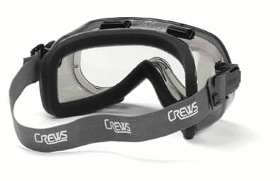 Crews Verdict Indirect Vent Goggle with Foam Lining and Clear Lens