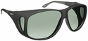 Haven Banyan OTG Sunglasses with XLarge Black Frame and Gray Polarized Lens