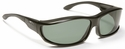 Haven Hunter OTG Sunglasses with Large Black Frame and Gray Polarized Lens
