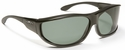 Haven Malloy OTG Sunglasses with M/L Black Frame and Gray Polarized Lens
