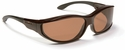 Haven Tolosa OTG Sunglasses with Medium Tortoise Frame and Amber Polarized Lens