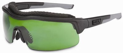 Uvex ExtremePro Safety Glasses with Shade 3.0 Supra-Dura Anti-Scratch Lens