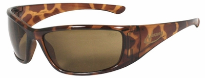 Radians Vengeance Safety Glasses with Tortoise Frame and Coffee Mirror Lens