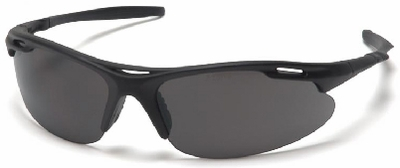 Pyramex Avante Safety Glasses with Black Frame and Gray Lens