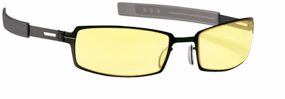 Gunnar PPK Digital Performance Eyewear with Gloss Onyx Frame and Amber Lens