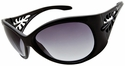 Vast Pili Women's Safety Sunglasses with Black Frame and Smoke Gradient Lens