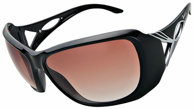 Vast Mafadi Women's Safety Sunglasses with Black Frame and Copper Gradient Driving Lens