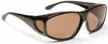 Haven Everest OTG Sunglasses with XLarge Tortoise Frame and Amber Polarized Lens