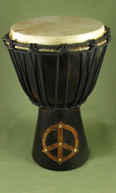 Peace Drum Dark